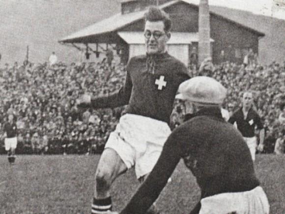 Leopold Kielholz - el futbolista que jugó un Mundial con lentes