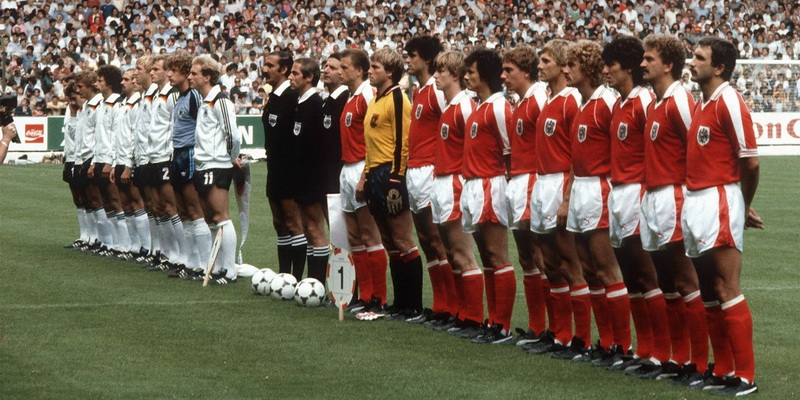 Mundial 1982 Alemania Federal y Austria