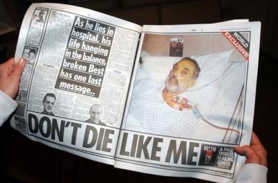 11 George Best en el hospital