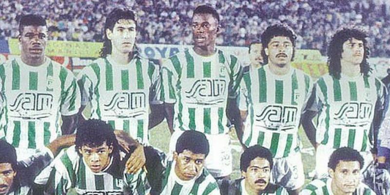 Atletico Nacional Campeon Libertadores 1989
