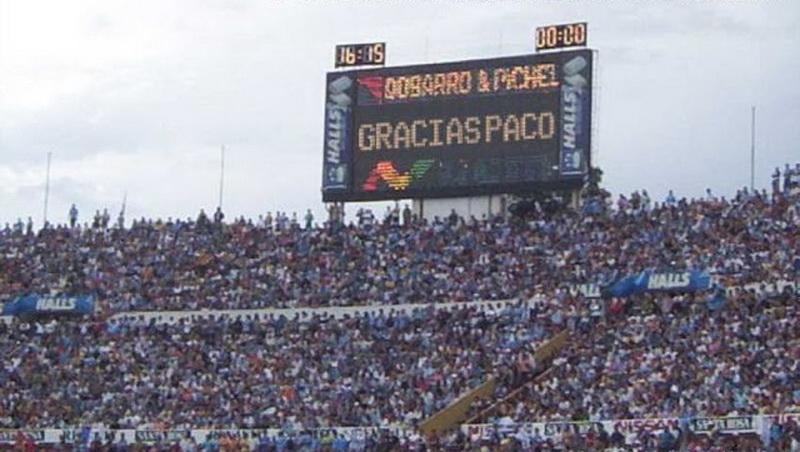 Fútbol Uruguayo Gracias Paco