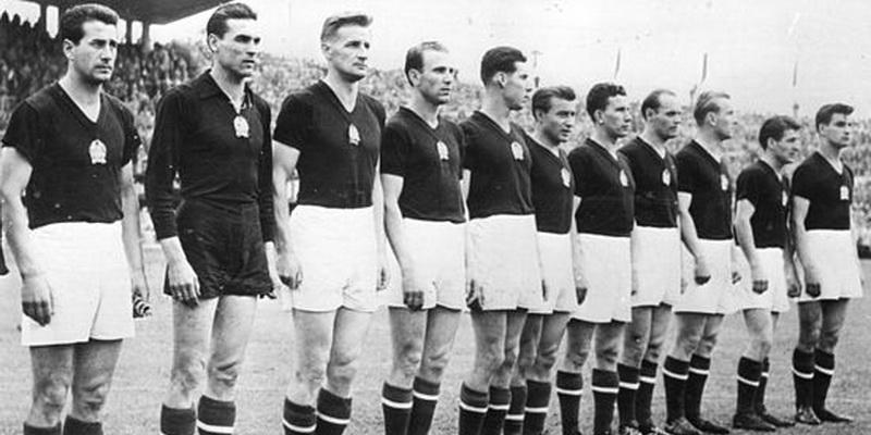 Seleccion de futbol de Hungria