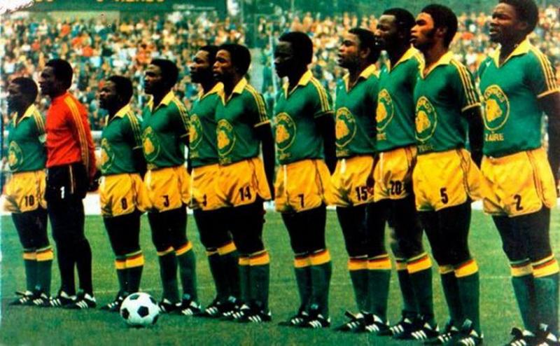 Selección de fútbol de la república democrática del Congo